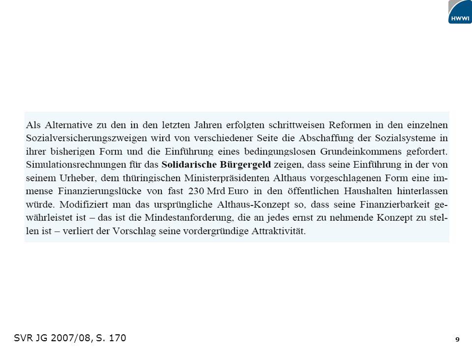 SVR JG 2007/08, S. 170 Titel