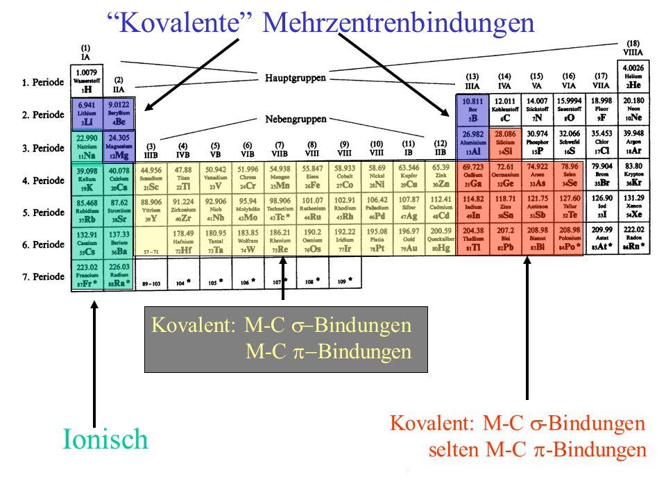 Kovalente Mehrzentrenbindungen