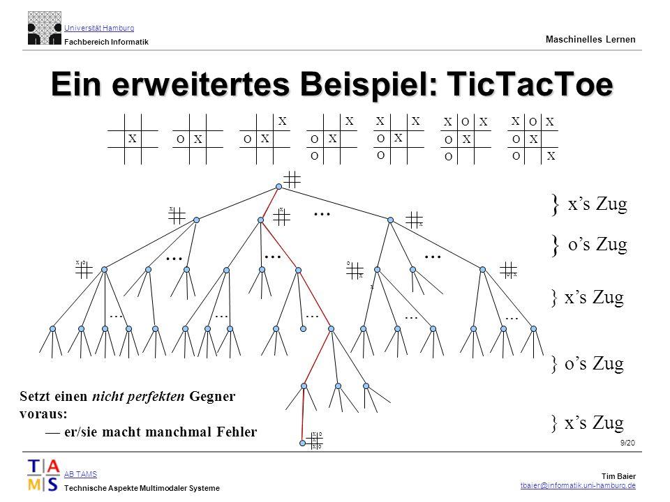 Ein erweitertes Beispiel: TicTacToe