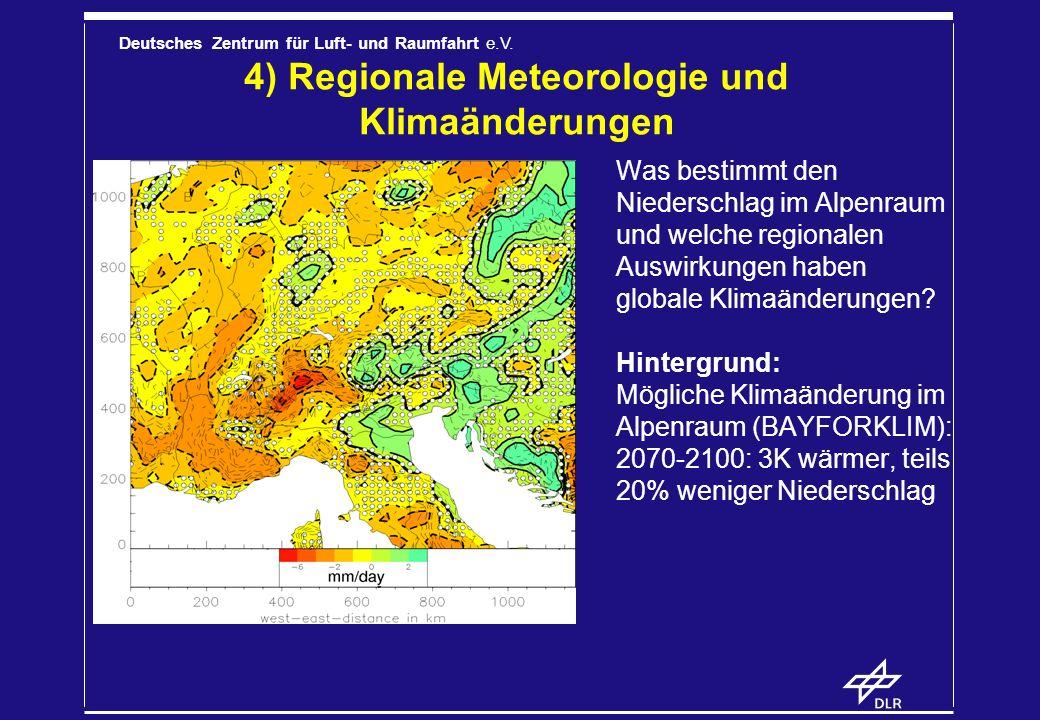 4) Regionale Meteorologie und Klimaänderungen