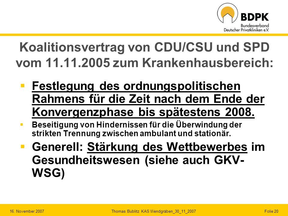 Koalitionsvertrag von CDU/CSU und SPD vom 11. 11