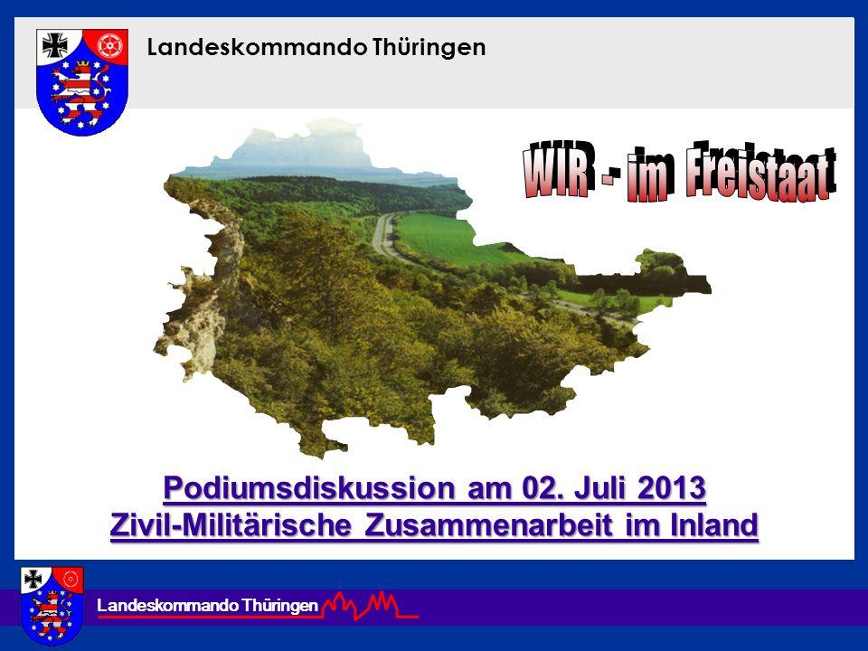 WIR - im Freistaat Podiumsdiskussion am 02. Juli 2013