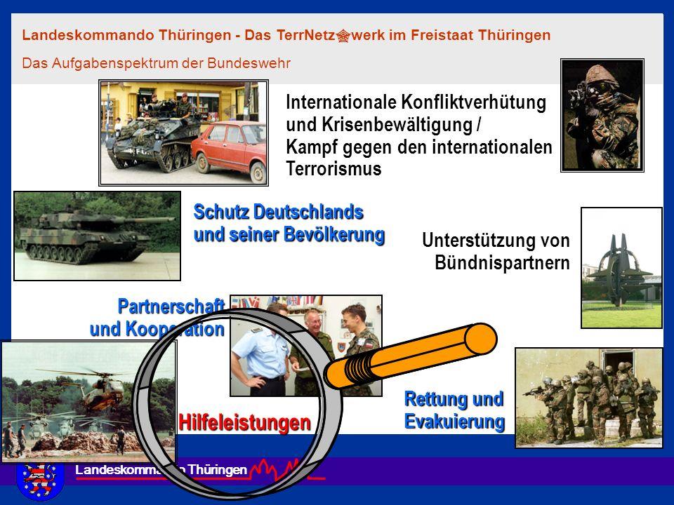 Hilfeleistungen Internationale Konfliktverhütung