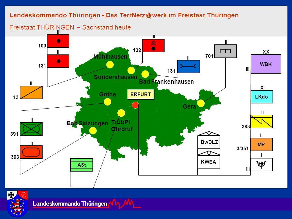 Landeskommando Thüringen - Das TerrNetzwerk im Freistaat Thüringen