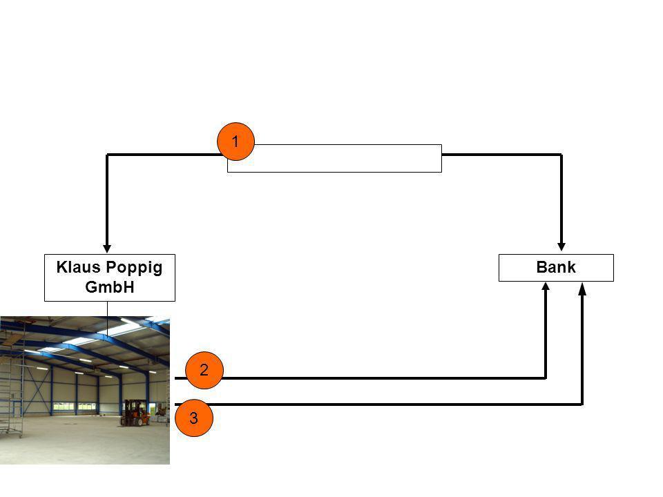 1 Klaus Poppig GmbH Bank 2 3