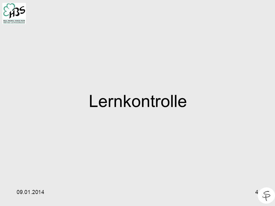 Lernkontrolle 27.03.2017
