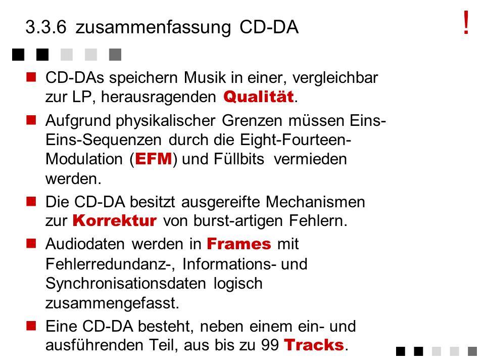 3.3.6 zusammenfassung CD-DA