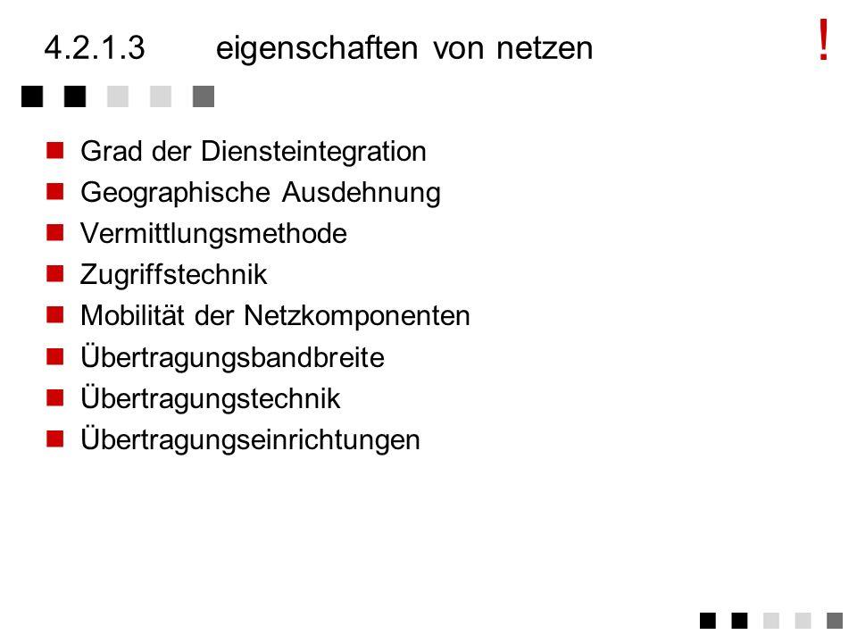 4.2.1.3 eigenschaften von netzen