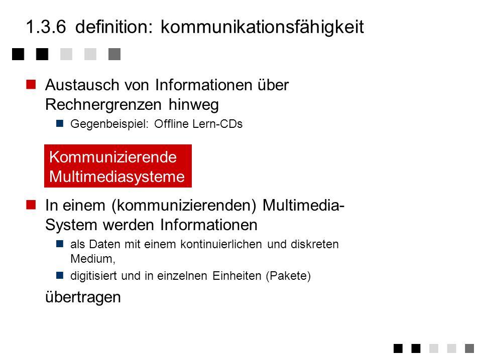 1.3.6 definition: kommunikationsfähigkeit