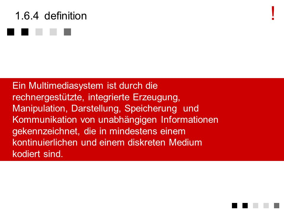 ! 1.6.4 definition.