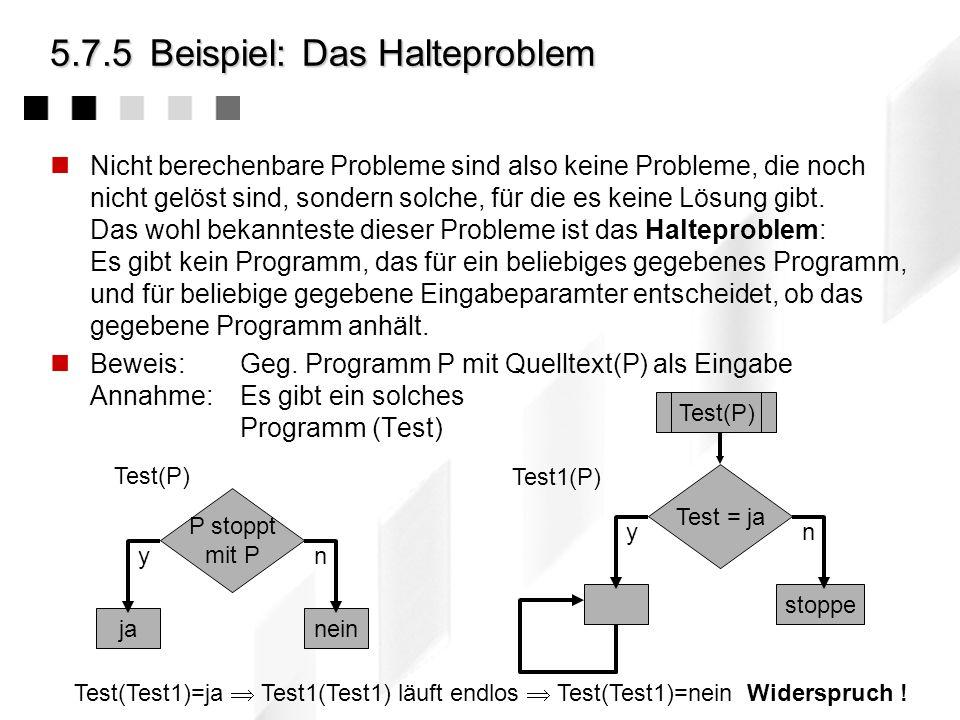 5.7.5 Beispiel: Das Halteproblem