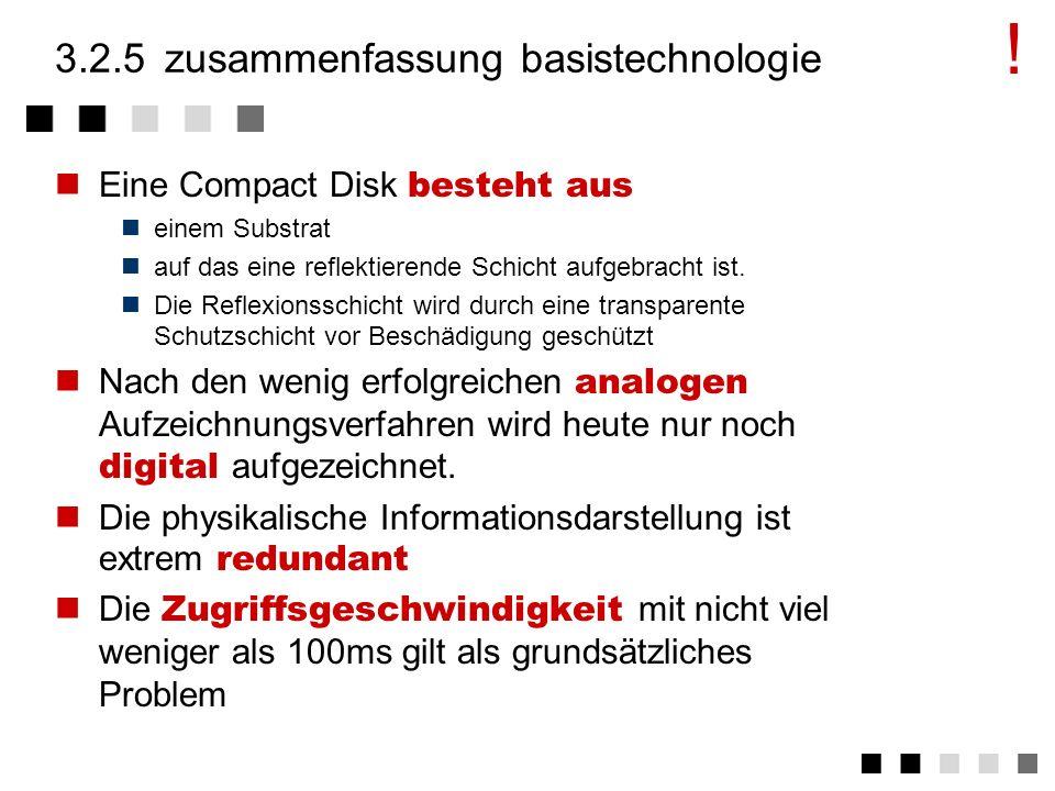 3.2.5 zusammenfassung basistechnologie