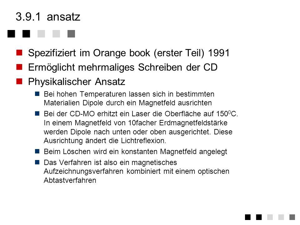 3.9.1 ansatz Spezifiziert im Orange book (erster Teil) 1991