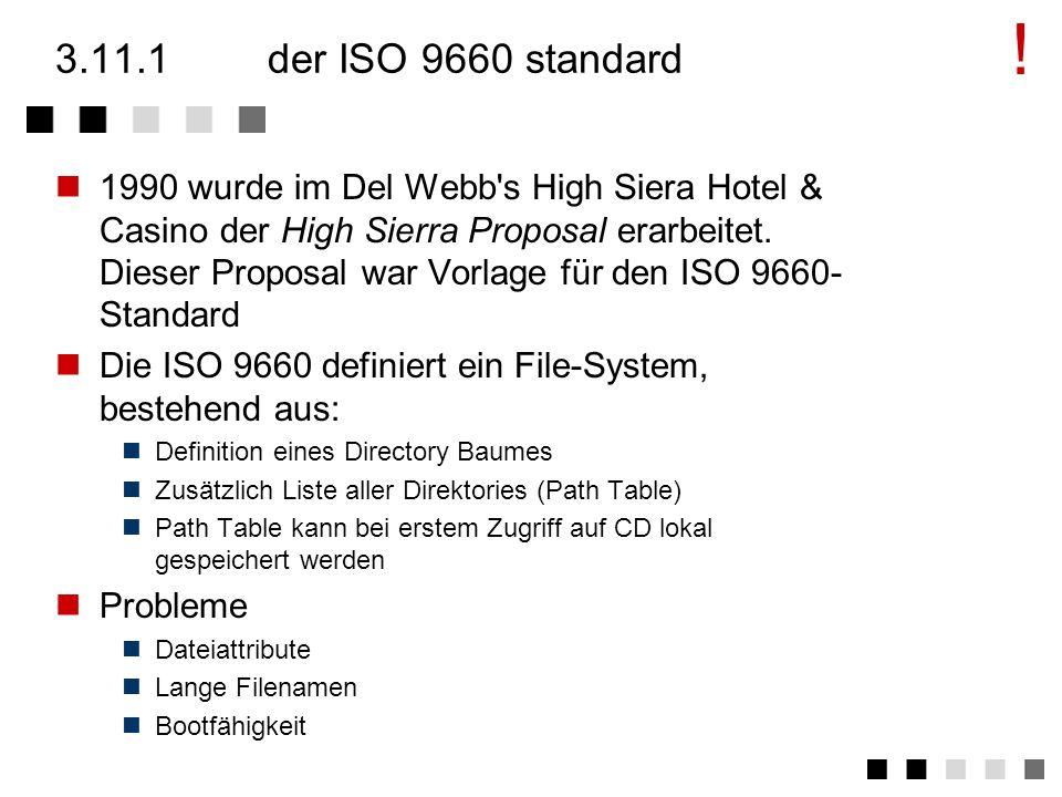 ! 3.11.1 der ISO 9660 standard.