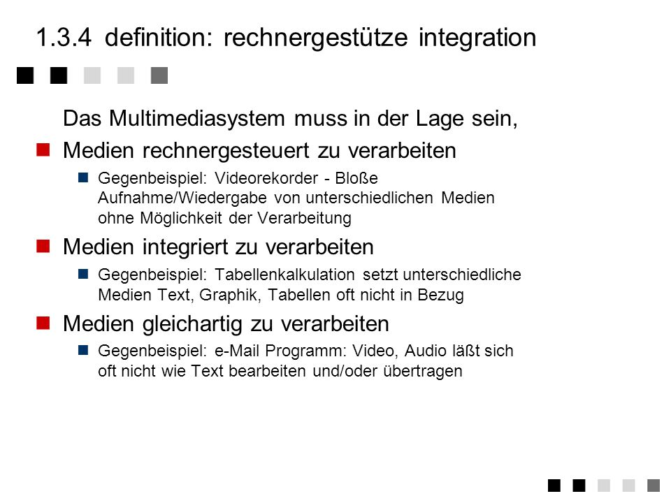 1.3.4 definition: rechnergestütze integration
