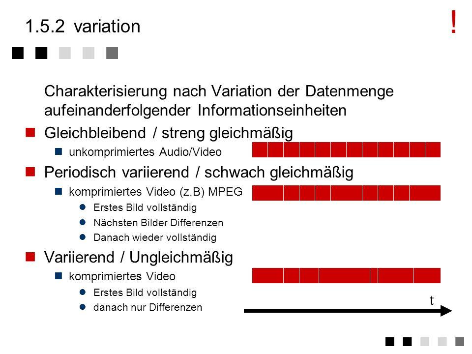 ! 1.5.2 variation. Charakterisierung nach Variation der Datenmenge aufeinanderfolgender Informationseinheiten.