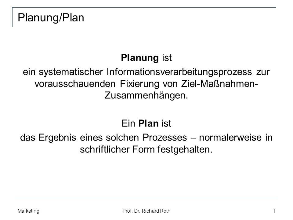 Planung/Plan