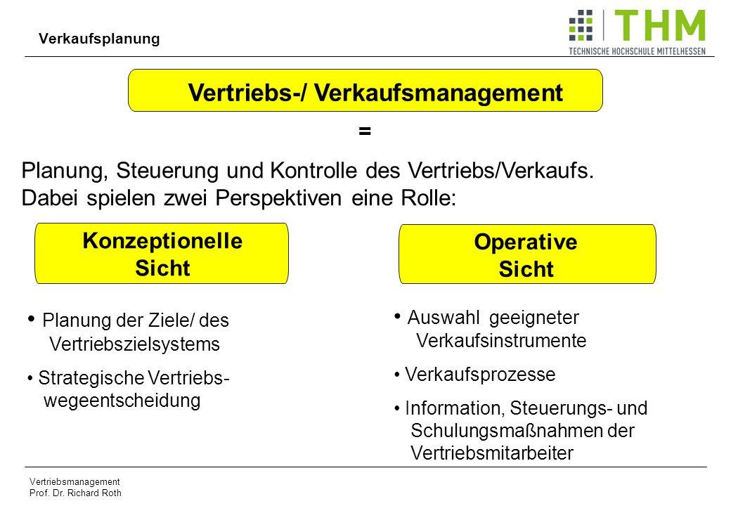 Vertriebs-/ Verkaufsmanagement