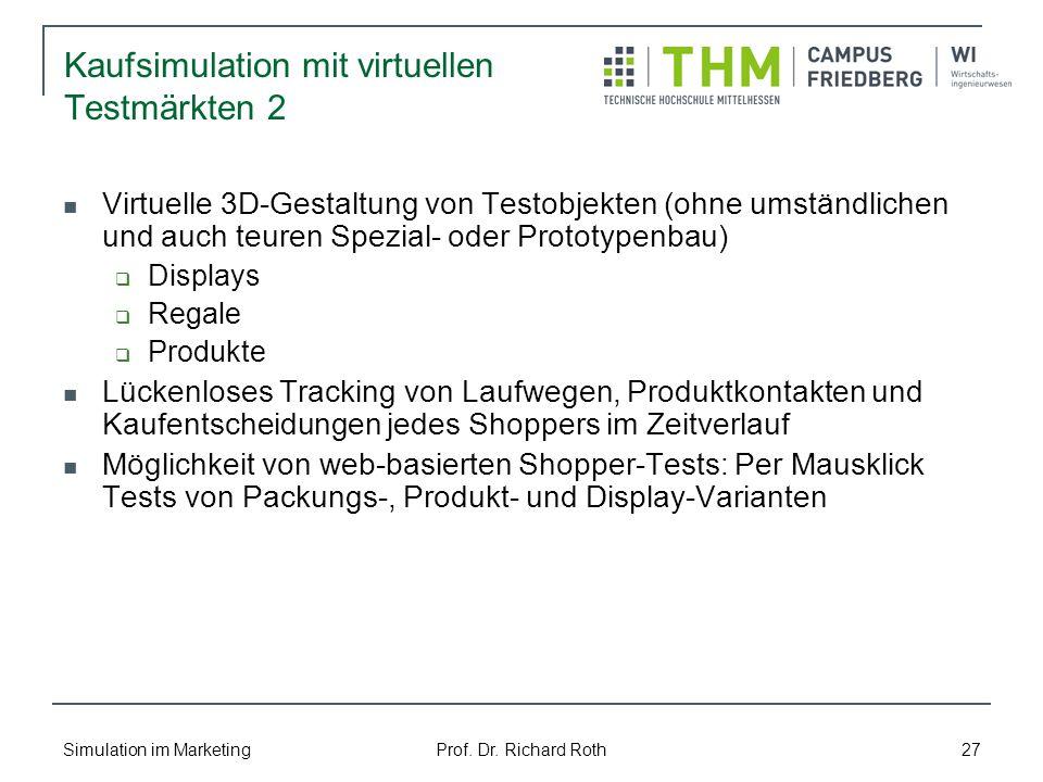 Kaufsimulation mit virtuellen Testmärkten 2
