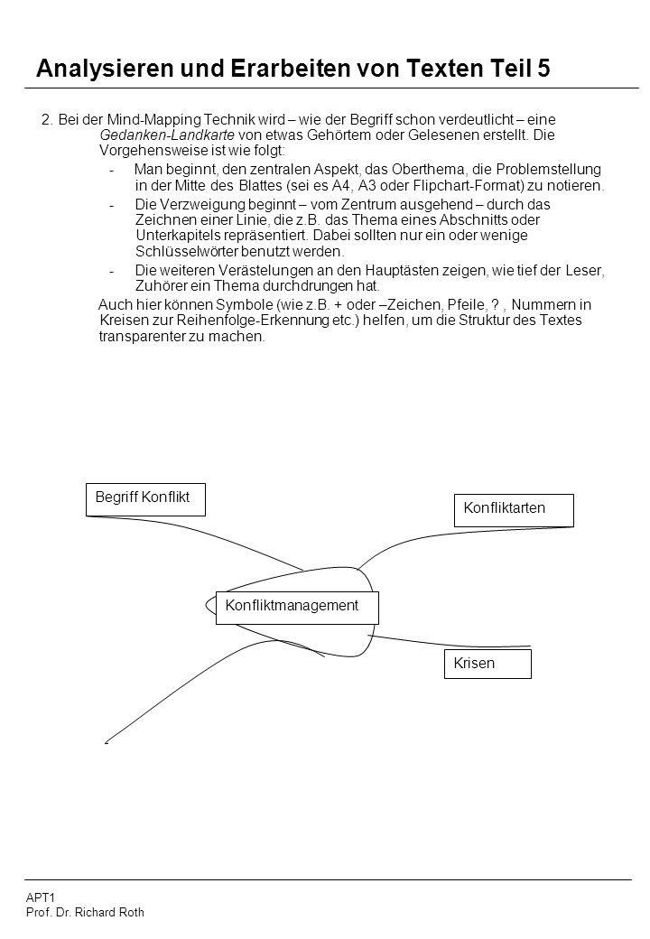 Analysieren und Erarbeiten von Texten Teil 5