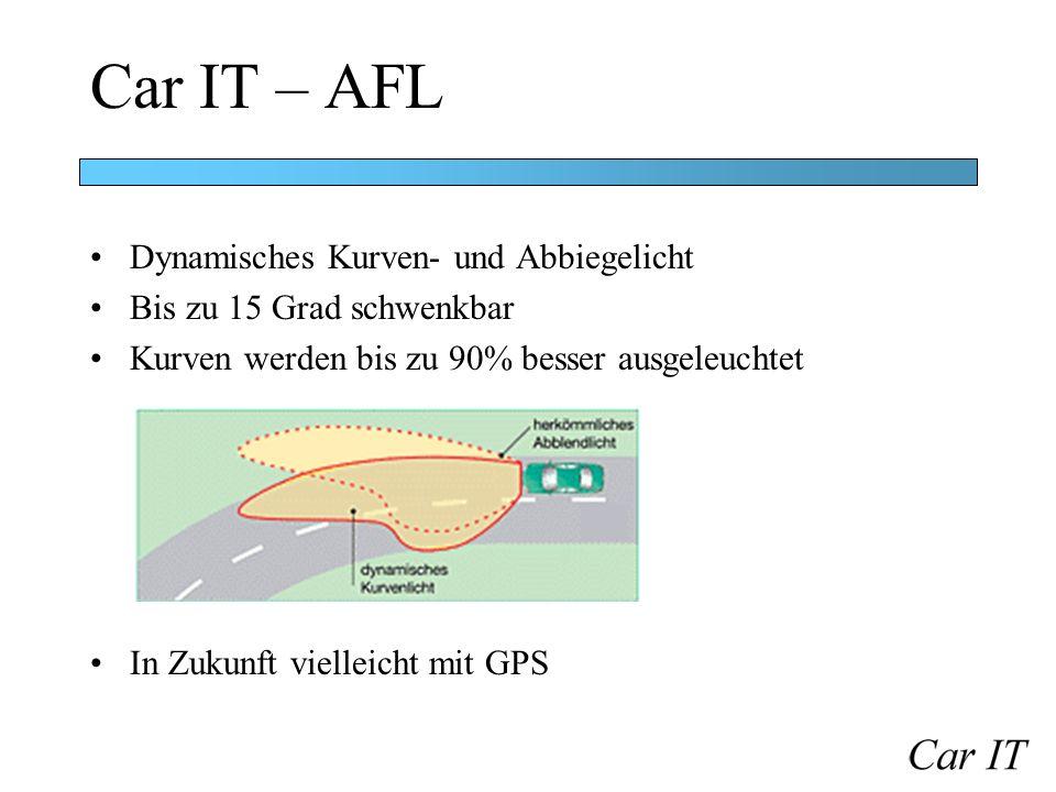Car IT – AFL Dynamisches Kurven- und Abbiegelicht