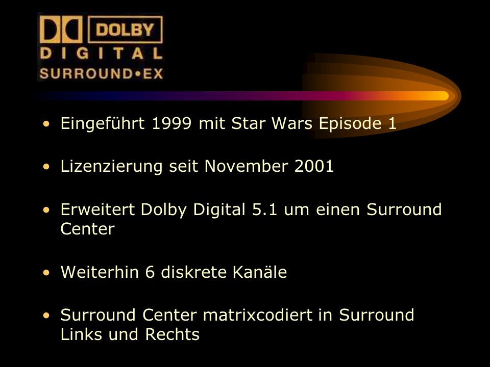 Eingeführt 1999 mit Star Wars Episode 1