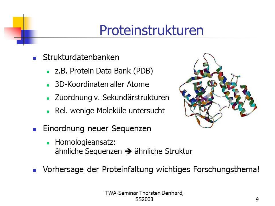 TWA-Seminar Thorsten Denhard, SS2003