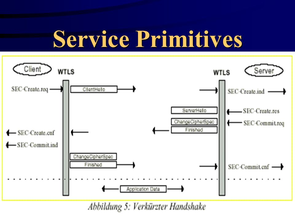 Service Primitives