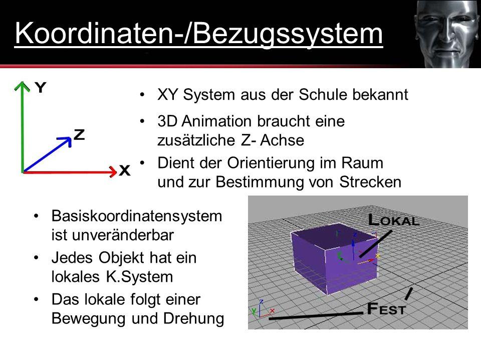 Koordinaten-/Bezugssystem