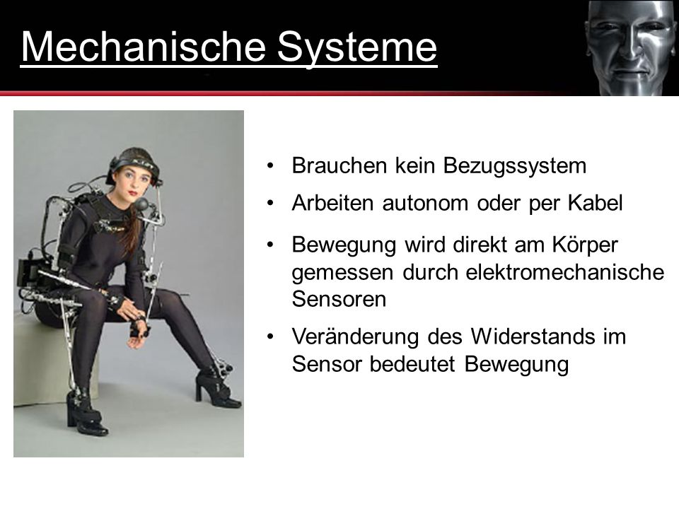 Mechanische Systeme Brauchen kein Bezugssystem