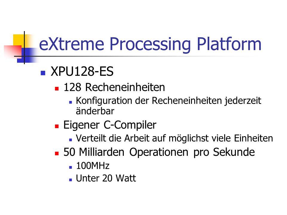 eXtreme Processing Platform