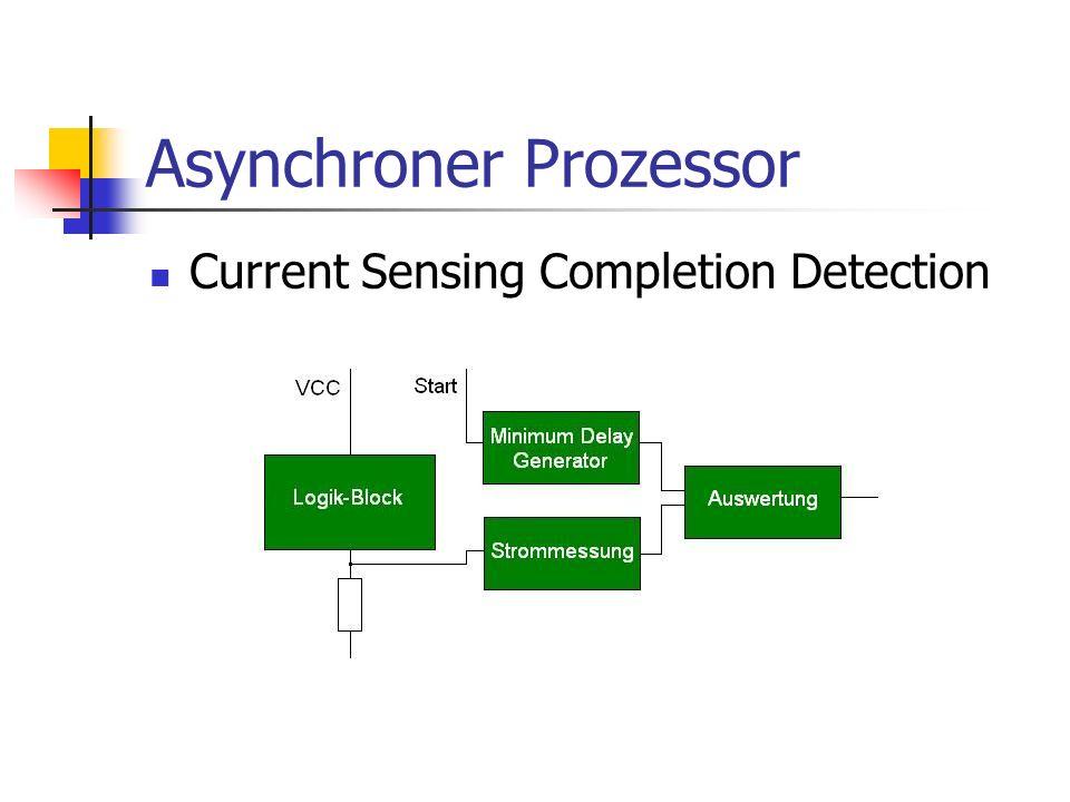 Asynchroner Prozessor