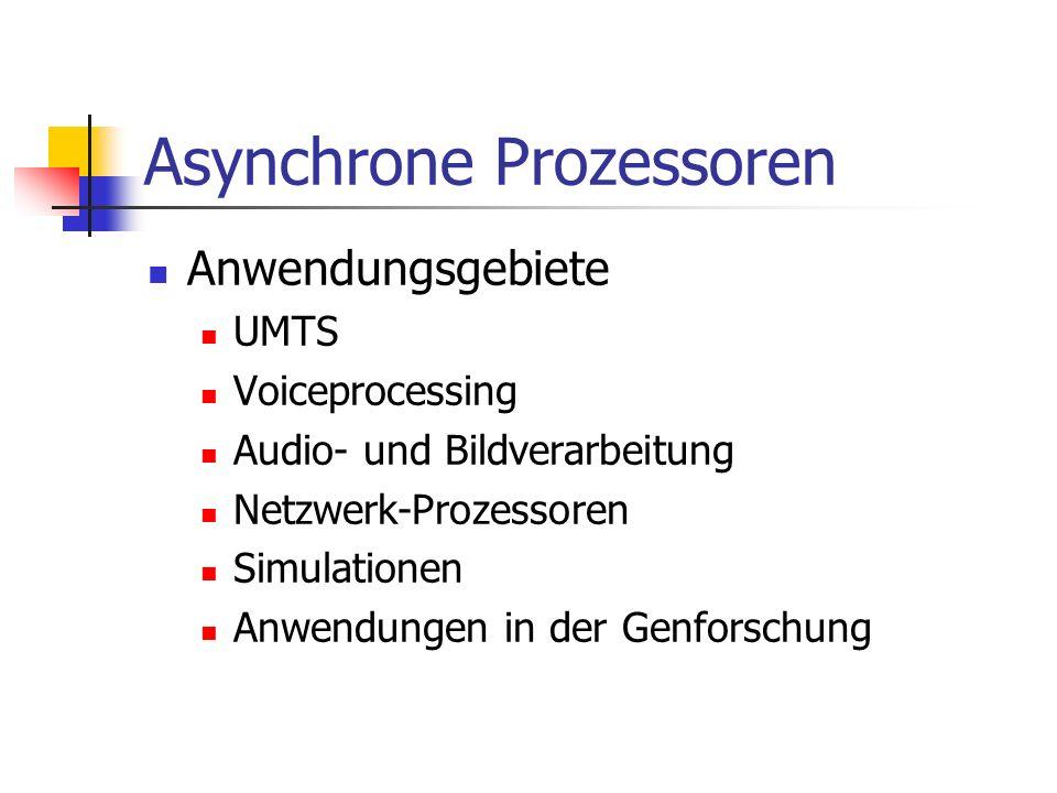 Asynchrone Prozessoren