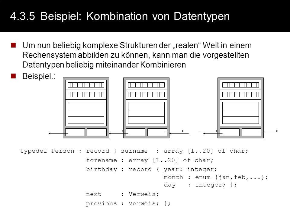 4.3.5 Beispiel: Kombination von Datentypen