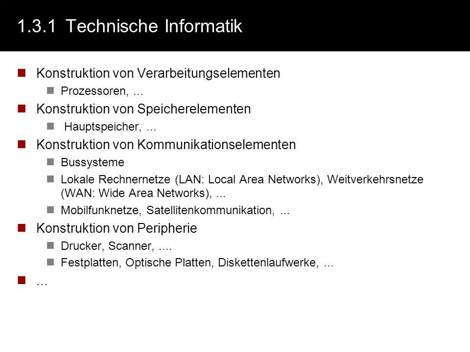1.3.1 Technische Informatik