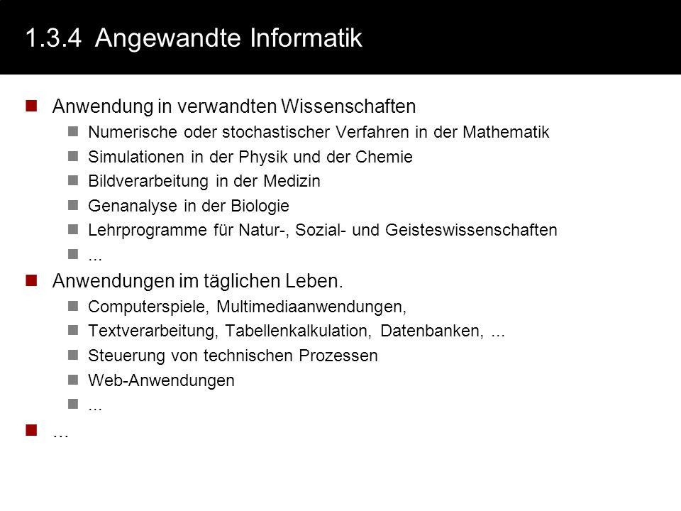 1.3.4 Angewandte Informatik