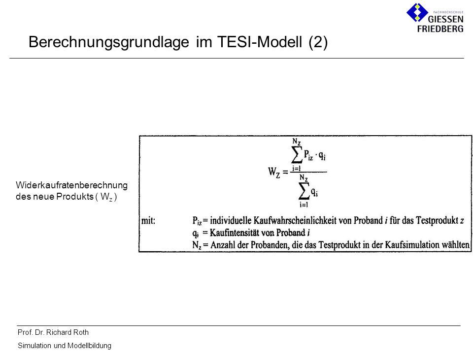 Berechnungsgrundlage im TESI-Modell (2)
