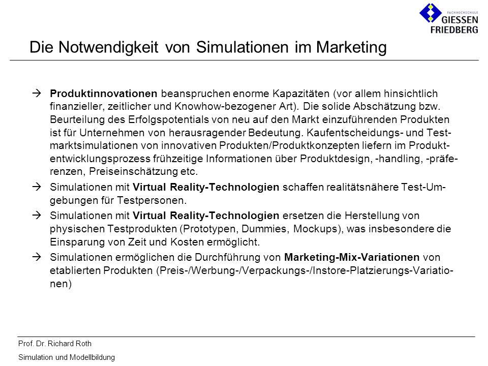Die Notwendigkeit von Simulationen im Marketing