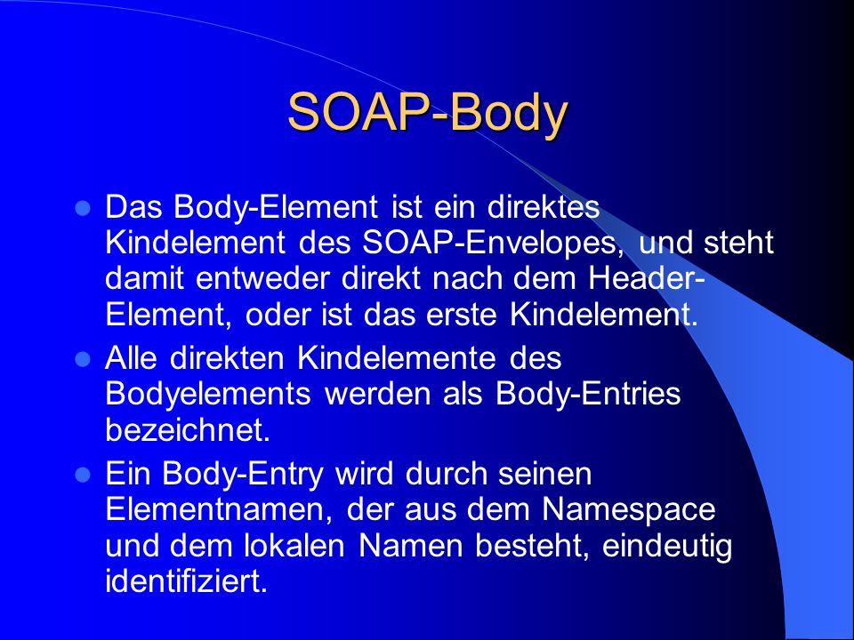 SOAP-Body