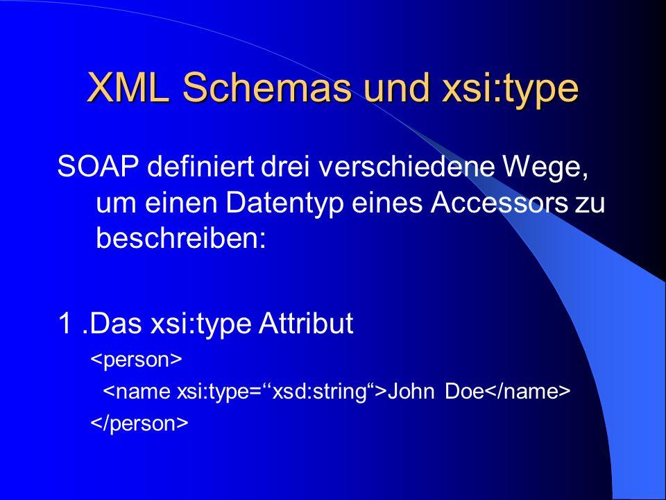 XML Schemas und xsi:type