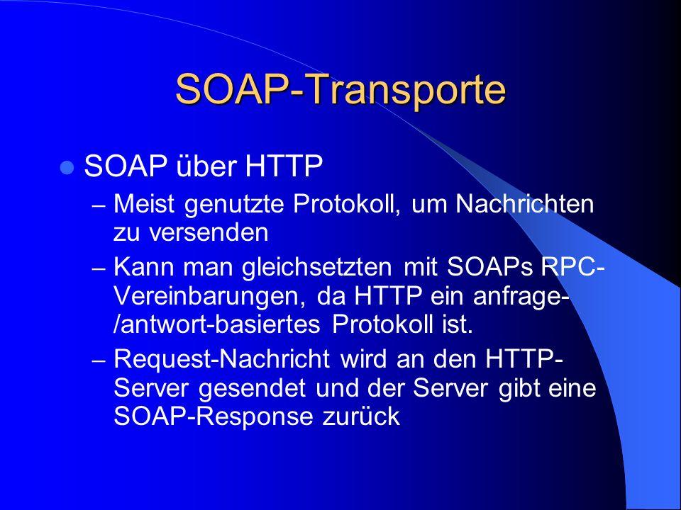 SOAP-Transporte SOAP über HTTP