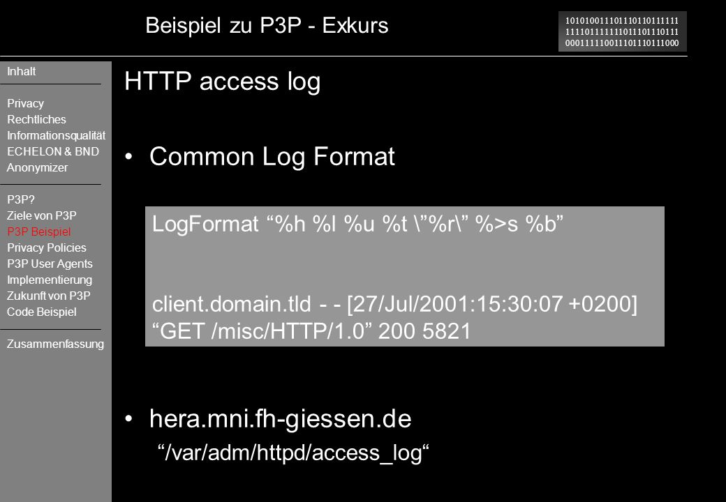 HTTP access log Common Log Format hera.mni.fh-giessen.de