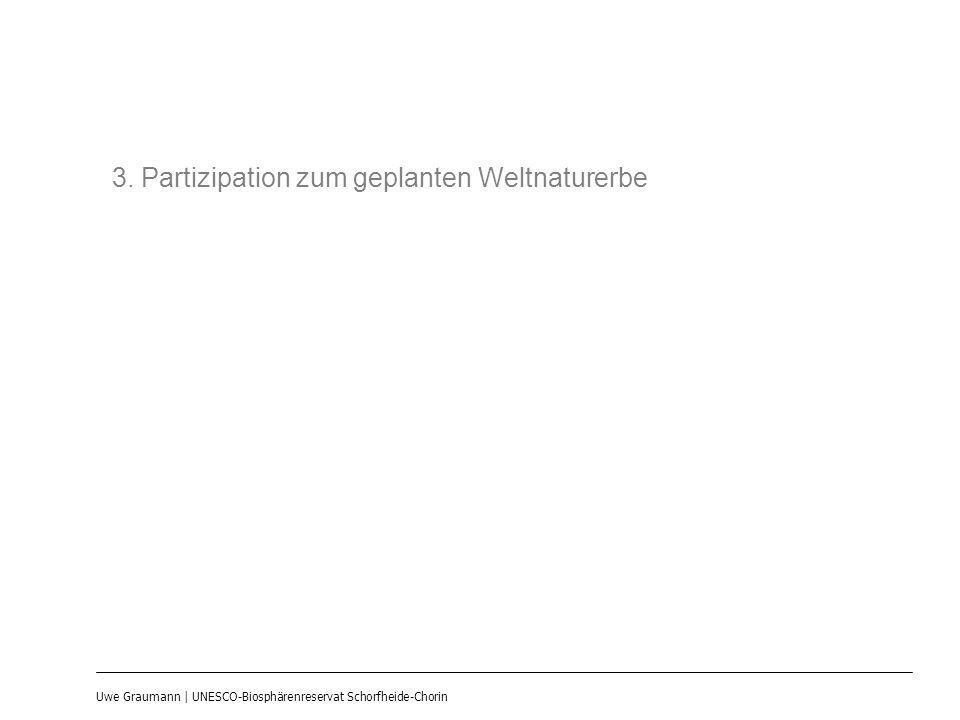 3. Partizipation zum geplanten Weltnaturerbe