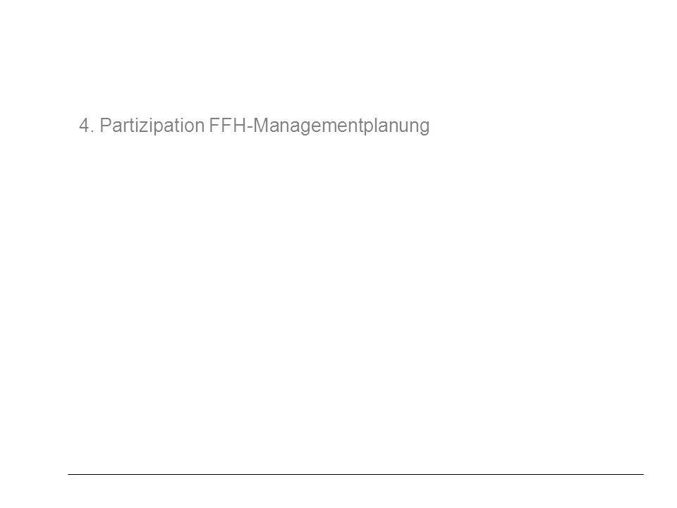 4. Partizipation FFH-Managementplanung