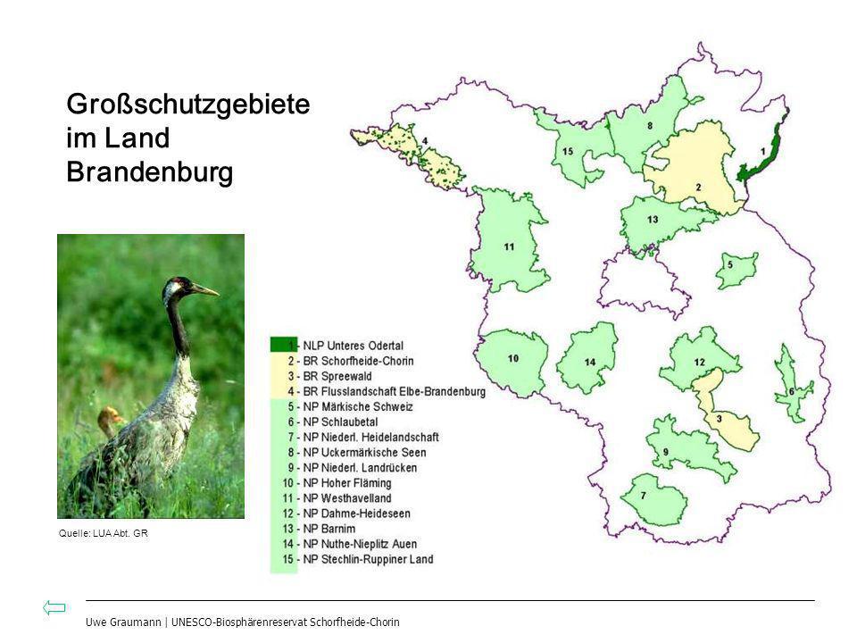 Großschutzgebiete im Land Brandenburg
