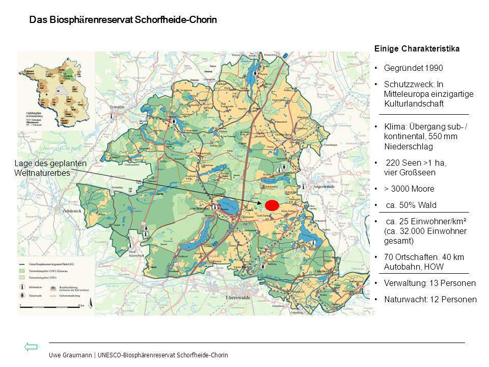 Das Biosphärenreservat Schorfheide-Chorin
