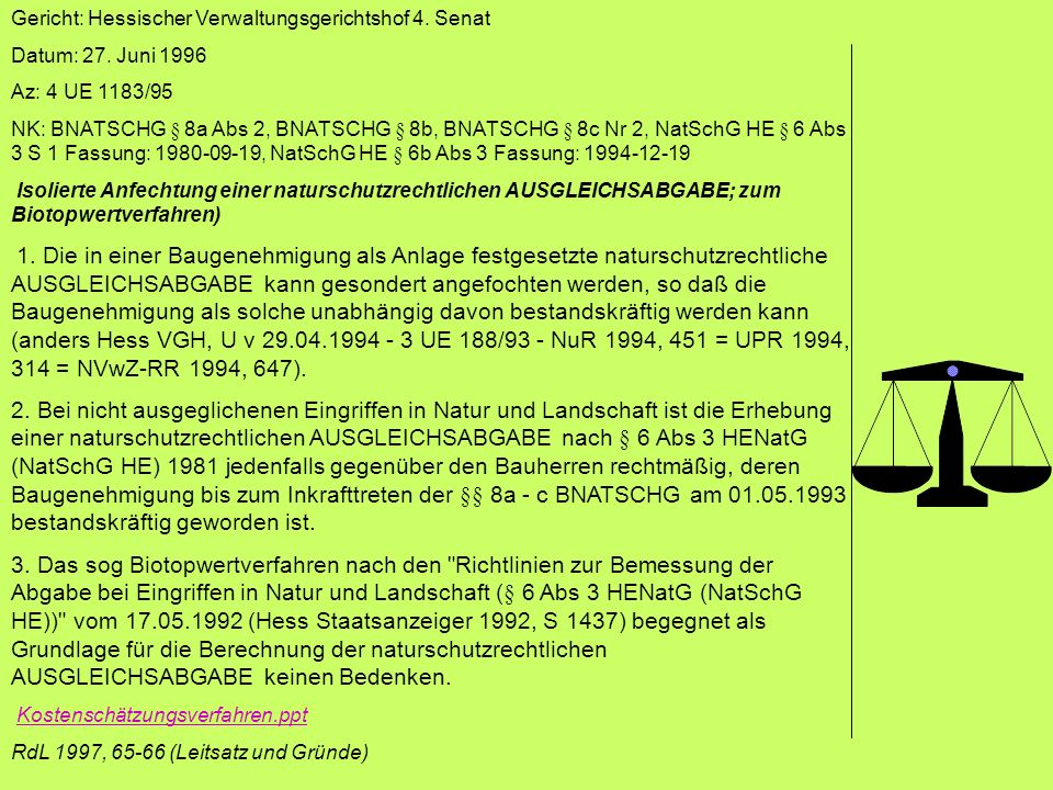Gericht: Hessischer Verwaltungsgerichtshof 4. Senat