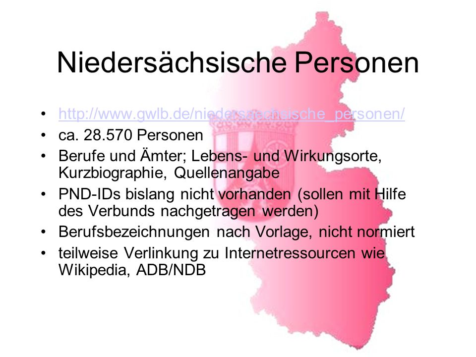 Niedersächsische Personen