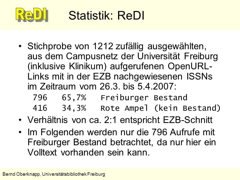 Statistik: ReDI