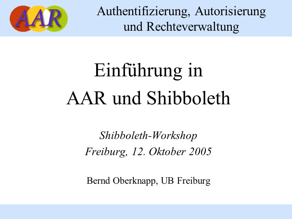 Bernd Oberknapp, UB Freiburg